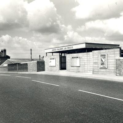 Lea Bridge Station 1963 L72.7.44