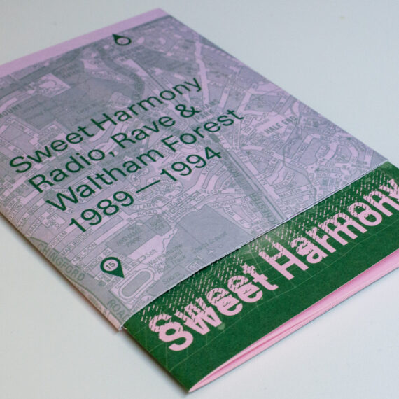 Sweet Harmony publication showing the wrap around map