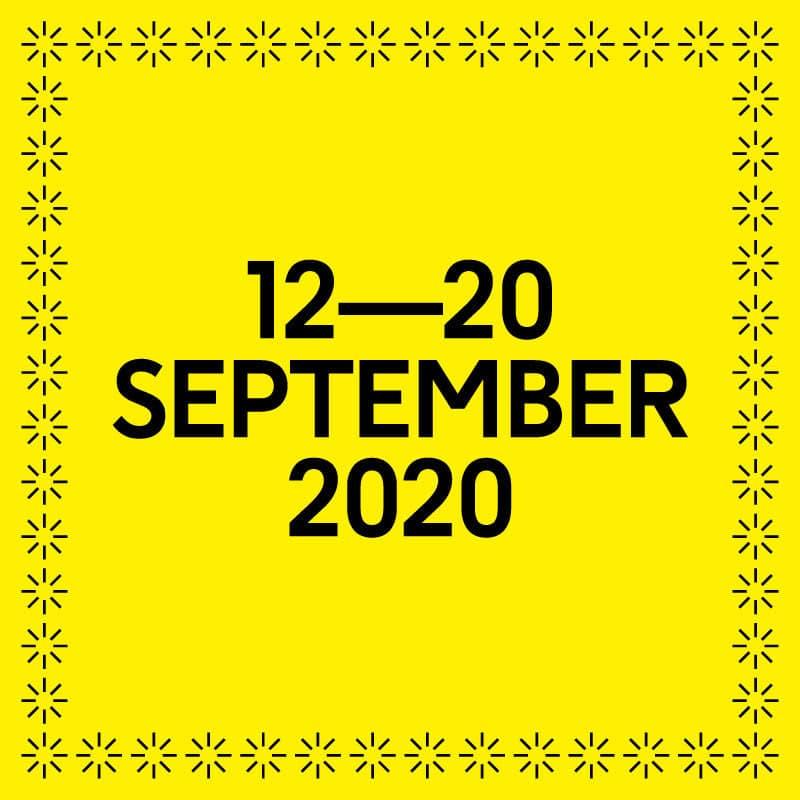 12 to 20 September 2020