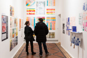 Photo showing inside of gallery space