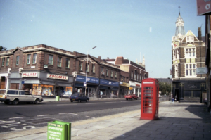 Image from the 1980s showing Leytonstone High Street