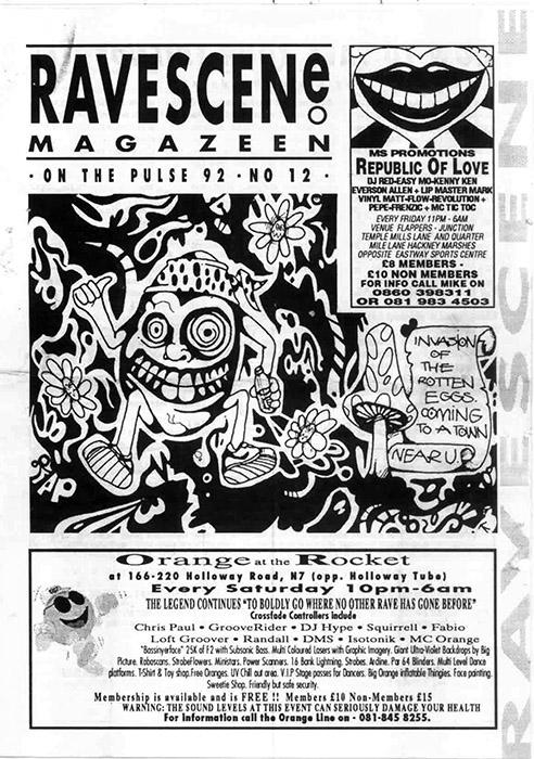 Issue 12 of Ravescene