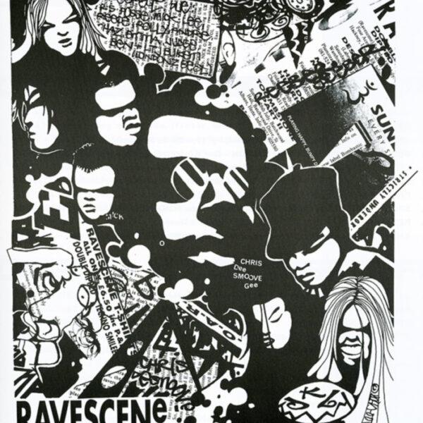 Artwork from Ravescene magazine, by Kris